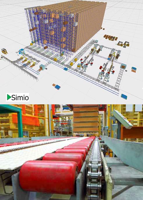 simulacion logistica